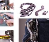 商品名 キーホルダー 鍵を6本収納できます