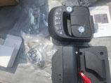 電子ロック 左ドア用 リモコン付き  4桁パスで開き、 鍵マーク長押しでロック 2重の鍵で長時間駐車の時