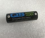 商品名 QB 3000mAh 3.7v   18650