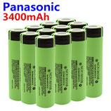 商品名 パナソノック セル 3400mAH 3.7V   1本