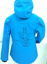 Winter Softshell-Jacke, wasserdicht und atmungsaktiv, div. Farben
