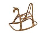 Child's Rocking Horse in Rattan