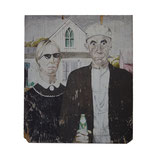 American Gothic with Sunglasses