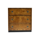 John Widdicomb Burlwood Chest Dresser