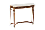 Gilt Spanish Console with Marble Top