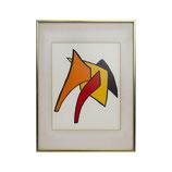 Alexander Calder Lithograph 'Derriere le Miroir'