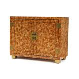 Faux Tortoise Cabinet by Henredon