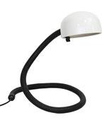 Coiled Desk Lamp in Black & White
