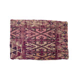 Colorful Moroccan Berber Pillow Sham in Fuchsia and Pink