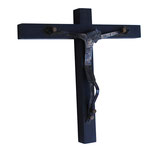 Handcrafted Mexican Sterling Silver and Wood Crucifix