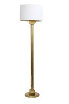 Minimal Geometric Brass Floor Lamp