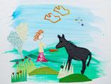 Flo und der Esel