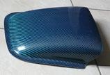 Prise d'air / écope de toit - Carbone de couleur ( Bleu ou Rouge ) - Réf. ac001