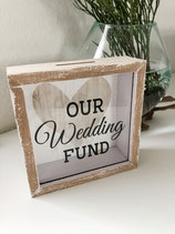 "Spardose ""Our Wedding Fund"""