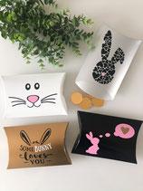 4er-Set Kissenschachteln für Ostern