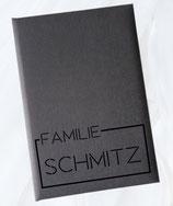 Stammbuch Standardmaß - Design 006 - personalisierbar mit Namen