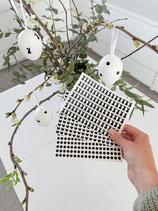 490 Mini-Aufkleber für Ostereier oder andere DIY-Projekte