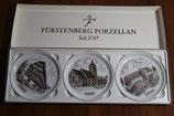 Fürstenberg Porzellan seit 1747 Sammelteller Wolfhagen Untertasse