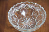 Bleikristallschale Schüssel aus Kristallglas Kristallglasschale