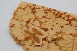 Tischläufer orange ocker champagnerfarben Ahornblätter mit zwei kleinen Deckchen