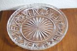 Bleikristall Kristallglas Kuchenteller Tortenplatte rund