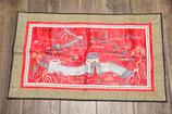 handbestickter asiatischer chinesische Mauer Wandteppisch 40x65cm