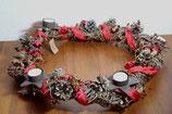 Weihnachtskranz Adventskranz handgeflochten