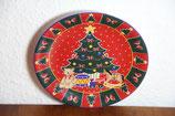 Weihnachtsteler Crea Table Tannenbaum mit Teddy und Geschenken