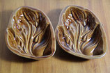 Keramikschale Blätter Keramikblätter kleine Backformen