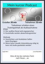 Kartenset: Design von Online-Trainings