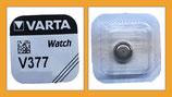 Varta UhrenBatterien Knopfzelle V377 SR66 SR626SW AG4