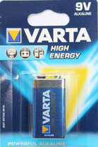 Varta Highenergy 9Volt