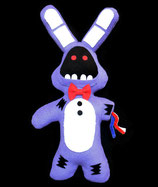 Broken / Withered Bonnie (Handmade Plush)