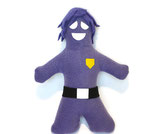 Purple Guy Handmade Plush (With Hair)