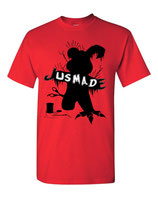 Jusmade T-shirts  (Red) (Royal Blue)