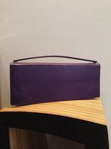Sac Hester Van Eeghen en cuir, violet
