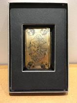 carte à jouer en céramique Kühn Keramik, dorée à l'or fin