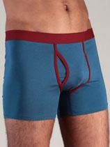 boxer shorts bleu denim, Albero Leela Cotton