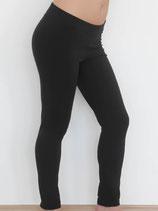 Leggings coton bio noir, Albero Leela Cotton