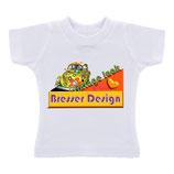 Minishirt met uw ontwerp met hangertje