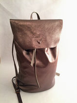 Backbag Metallic Cooper