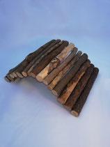 Pont en bois flexible