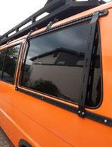 Vw T4 Airlineschinenen hinteres Fenster (kurzer Radstand) + Endkappen