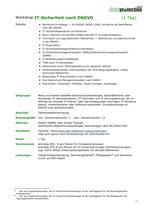 IT-Sicherheit nach DSGVO (1 Tag)