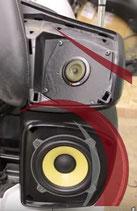 Lautsprechersysteme und Einbau für GL 1800