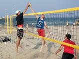 Pro Beach Netz 8,50m mit neutralen Netzkanten