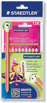 Staedtler Farbstiftset + 1 Stylus pink Gratis