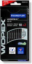 Staedtler WOPEX HB 12er Set black line