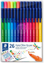 Staedtler Triplus Color 20+ 6 Bonuspack