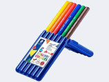 Staedtler JB Ergosoft Coloured Jumbo 6er Pack